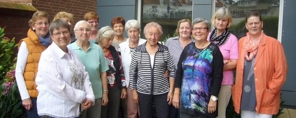 Hildegard Hörsting engagiert sich im Café Käthchen